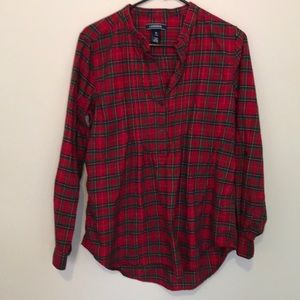 Lands End Tunic flannel
